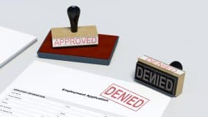 Employment denied expungement