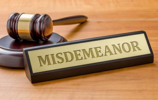 Class A Misdemeanors in Indiana